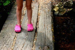 Niamhs feet
